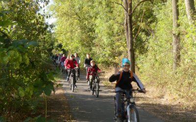 Kerékpártúra a NYÍRERDŐ-vel