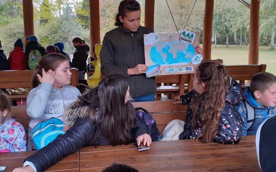 Egyre népszerűbb a debreceni erdei iskola