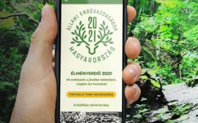 """""""21 Állami Erdőgazdaság, XXI. századi formában"""" az Egy a Természettel Vadászati és Természeti Világkiállításon"""